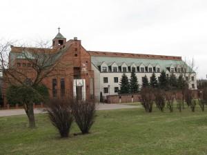 Klasztor ss Nazaretanek widok od ul. Cechowej