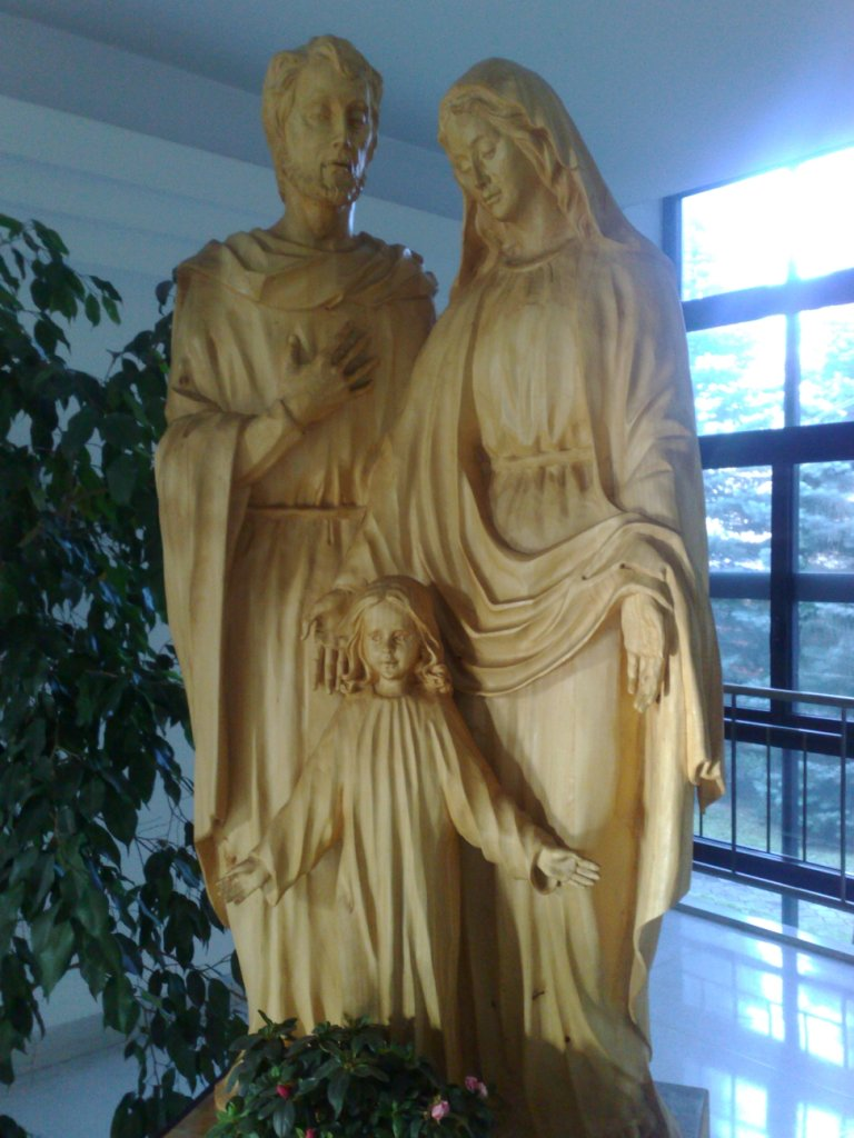 rzeźba św.Rodziny