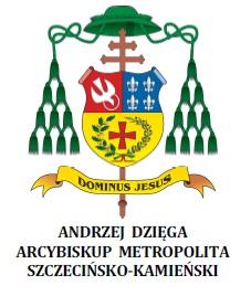 herb abp Andrzeja Dzięgi Metropolity Szczecińsko-Kamieńskiego